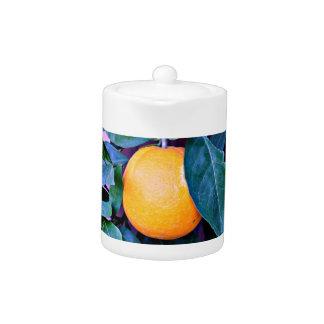 """Pot """"orange"""" de thé"""