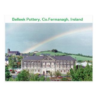 Poterie de Belleek, Belleek, Co.Fermanagh, Irlande Carte Postale