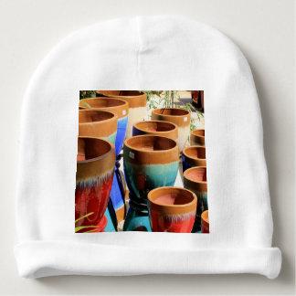 Pots colorés de plante de jardin bonnet pour bébé