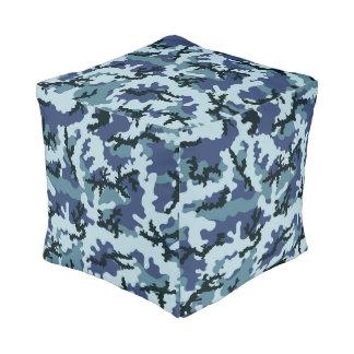Pouf Camouflage de marine