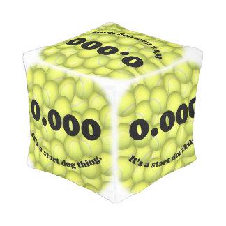 Pouf D'extérieur 0,000, le début parfait, c'est une chose de chien
