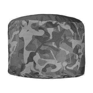 Pouf Motif abstrait de Camo camouflé par soldat
