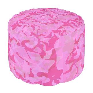 Pouf Motif Girly d'abrégé sur camouflage de roses