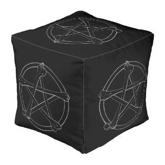 Pouf Pentagramme d'os
