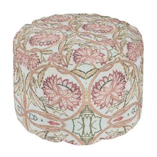 Pouf Pot de fleurs 1878 de William Morris de cru