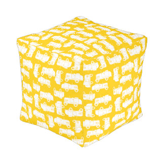 Pouf Roadsters d'or