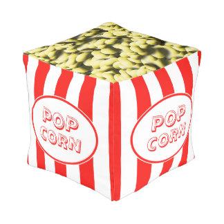 Pouf Thème drôle de film de maïs éclaté
