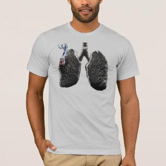 Poumon de tabagisme t-shirt