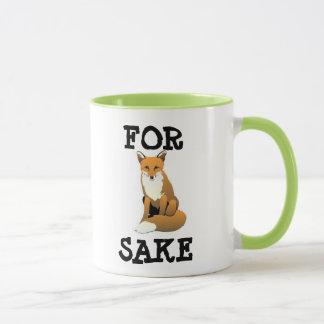 Pour la tasse de saké de Fox