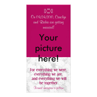 Pour tout - économies de photo la carte de date -  photocartes personnalisées