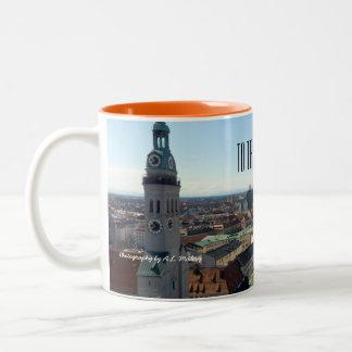 Pour voyager mug bicolore