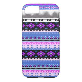 Pourpre aztèque et prune coque iPhone 7