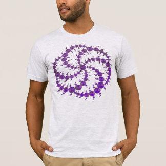 Pourpre de cercle de culture t-shirt