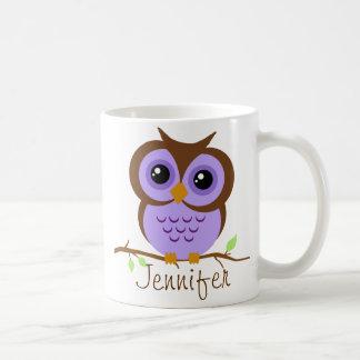 Pourpre d'Owly personnalisé Mug