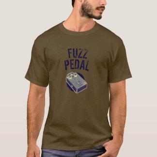 Pourpre psychédélique de pédale de duvet de t-shirt