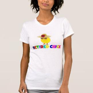 Poussin retiré, conception colorée t-shirt