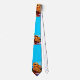 Poussin-Un-Dee-Lumière de Pâques Cravate Personnalisable