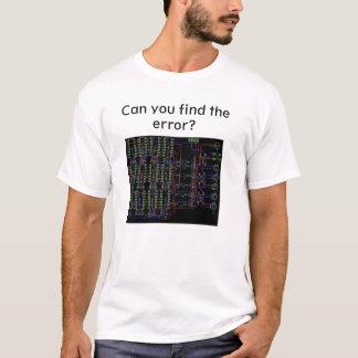 Pouvez vous trouver l'erreur, T-shirt d'ingénieur