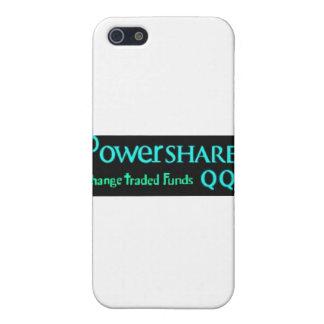Powershares commerçant sur le marché boursier étuis iPhone 5