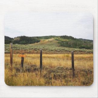 prairie dans le Colorado Tapis De Souris