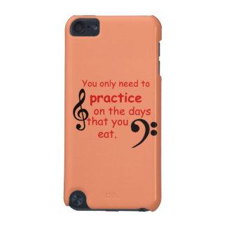 Pratiquez quand vous mangez le smartphone d'ipad coque iPod touch 5G