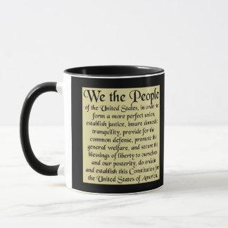 Préambule à la constitution des USA Mug