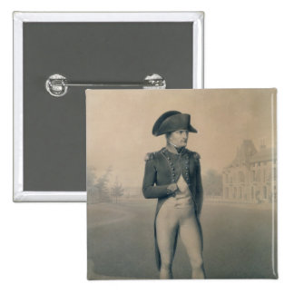 Premier consul de Napoleon Bonaparte chez Malmaiso Badge Carré 5 Cm