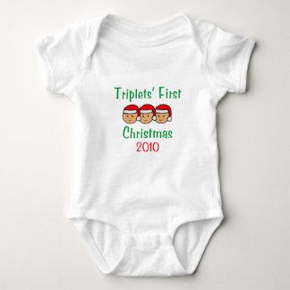 Premier Noël de triplets Body