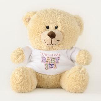 Premier ours de nounours de nouveau bébé
