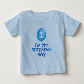 première chemise de garçon d'anniversaire t-shirt pour bébé
