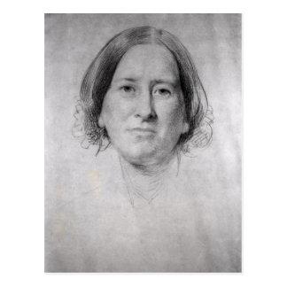 Première étude pour le portrait de George Eliot Carte Postale