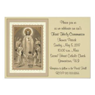 Premières invitations de sainte communion
