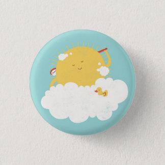 Prendre un bain de soleil badge rond 2,50 cm
