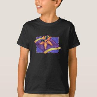 Prendre un bain de soleil des étoiles de mer t-shirt