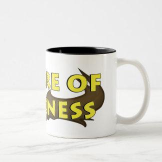 """Prenez garde de la tasse de café de """"logo de"""