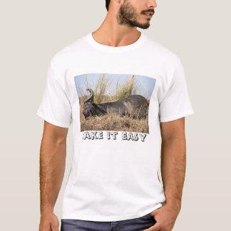 """Prenez-lui"" le T-shirt africain facile de buffle"