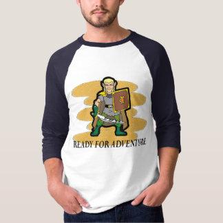 Préparez pour l'aventure t-shirt