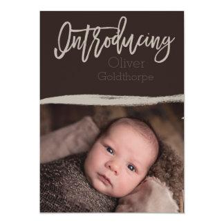 Présentation… Faire-part de bébé