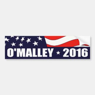 Président 2016 drapeau américain de Martin Autocollant De Voiture