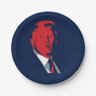 Président de Donald Trump Assiettes En Papier