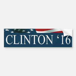 Président de Hillary Clinton en 2016 Autocollant De Voiture