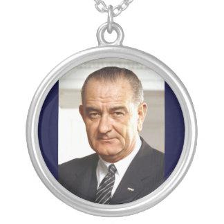 Président de Lyndon B. Johnson trente-sixième Collier