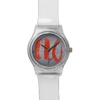 Président de votre montre de graffiti de destin