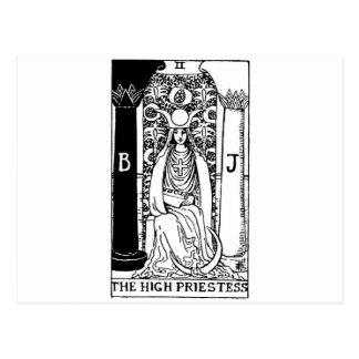 prêtresses de carte de tarot hautes '