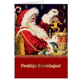 Prettige Kerstdagen. Nederlandse Kerstkaarten Kaart