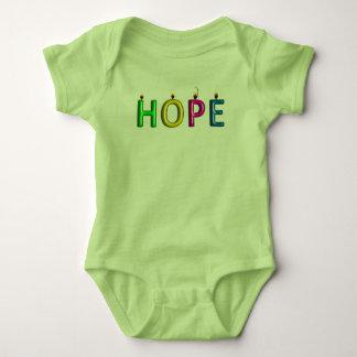 Preuve vivante de pièce en t de bébé d'espoir body