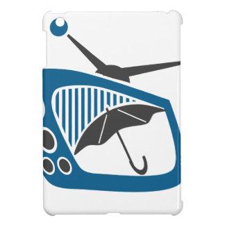 Prévision de parapluie de pluie de TV Coques Pour iPad Mini