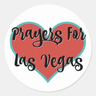 Prières pour des autocollants d'hommage de Las