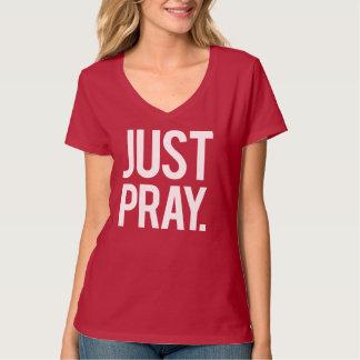 Priez juste le T-shirt des femmes religieuses