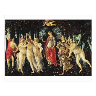 Primavera par Sandro Botticelli Carte Postale